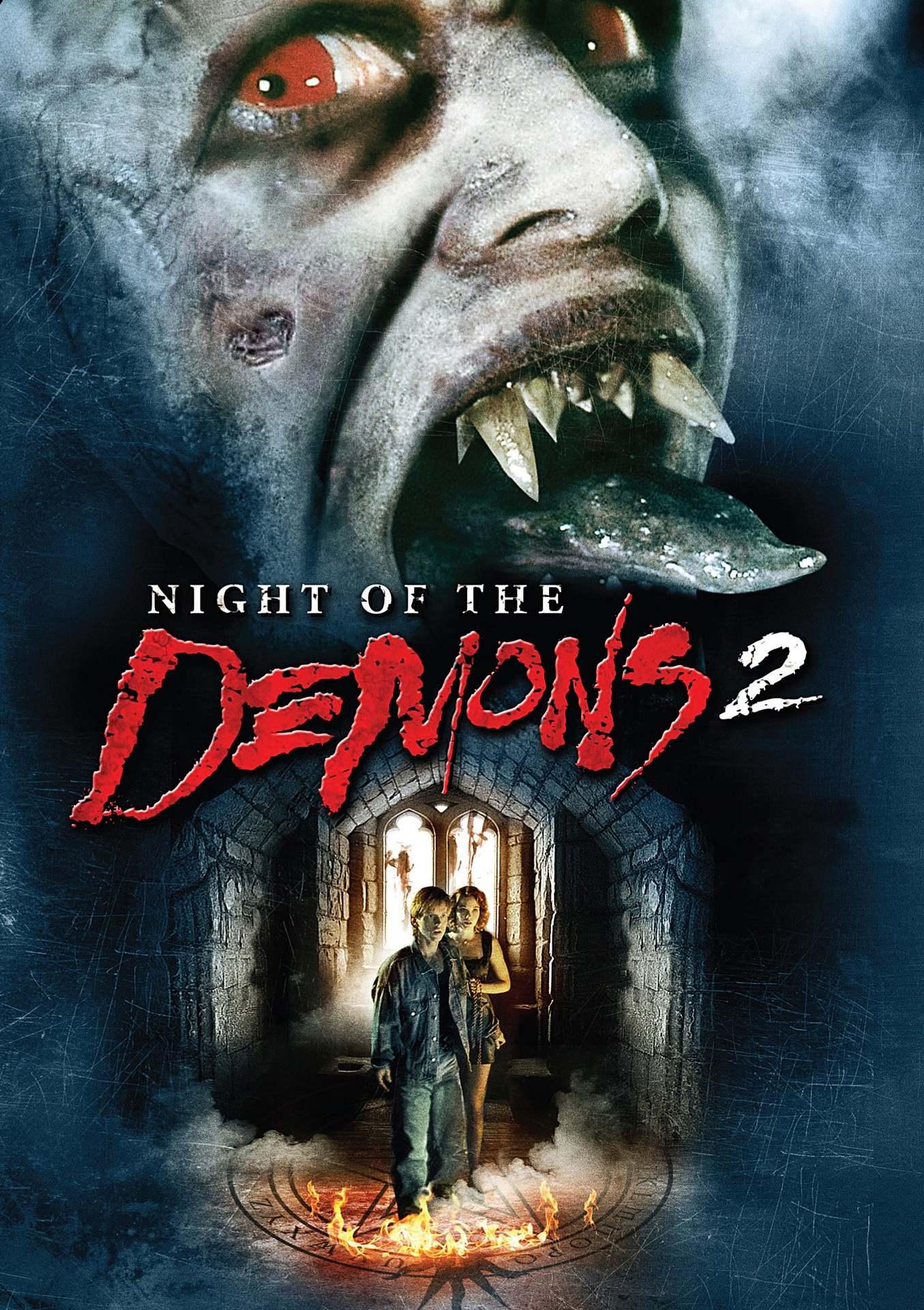 Постер фильма Ночь демонов 2 1994