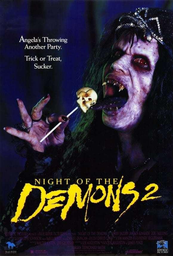Постер фильма Ночь демонов 2 Night of the Demons2 1994