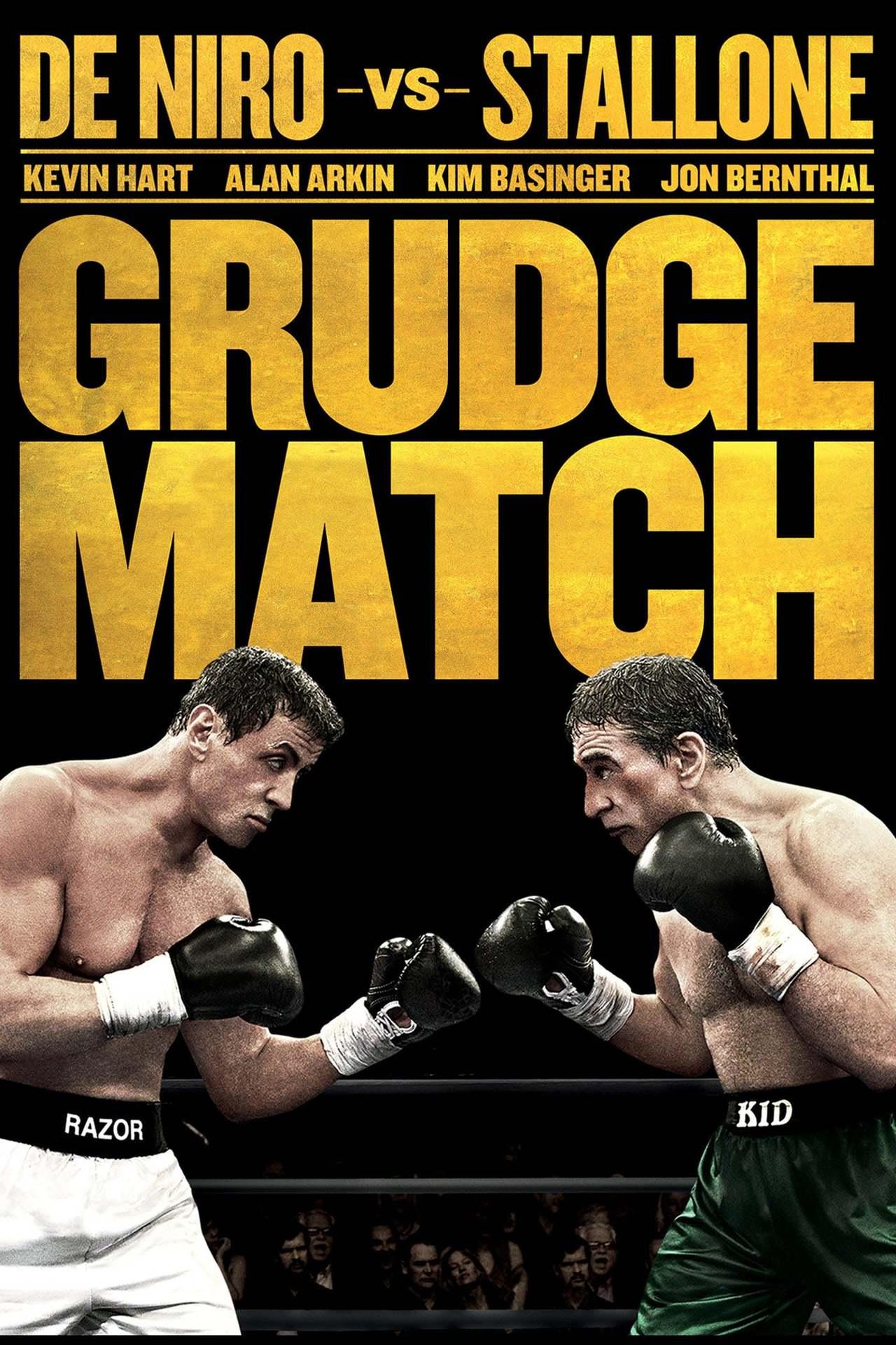 Постер фильма Забойный реванш Grudge Match 2013