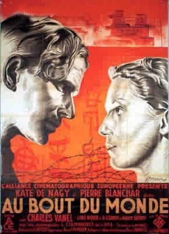 Постер фильма На краю света 1934