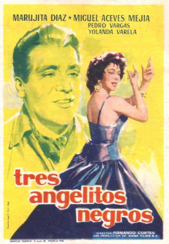 Постер фильма Tres angelitos negros 1960