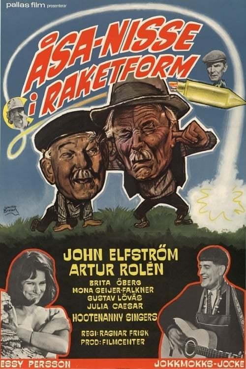 Постер фильма Åsa-Nisse i raketform 1966