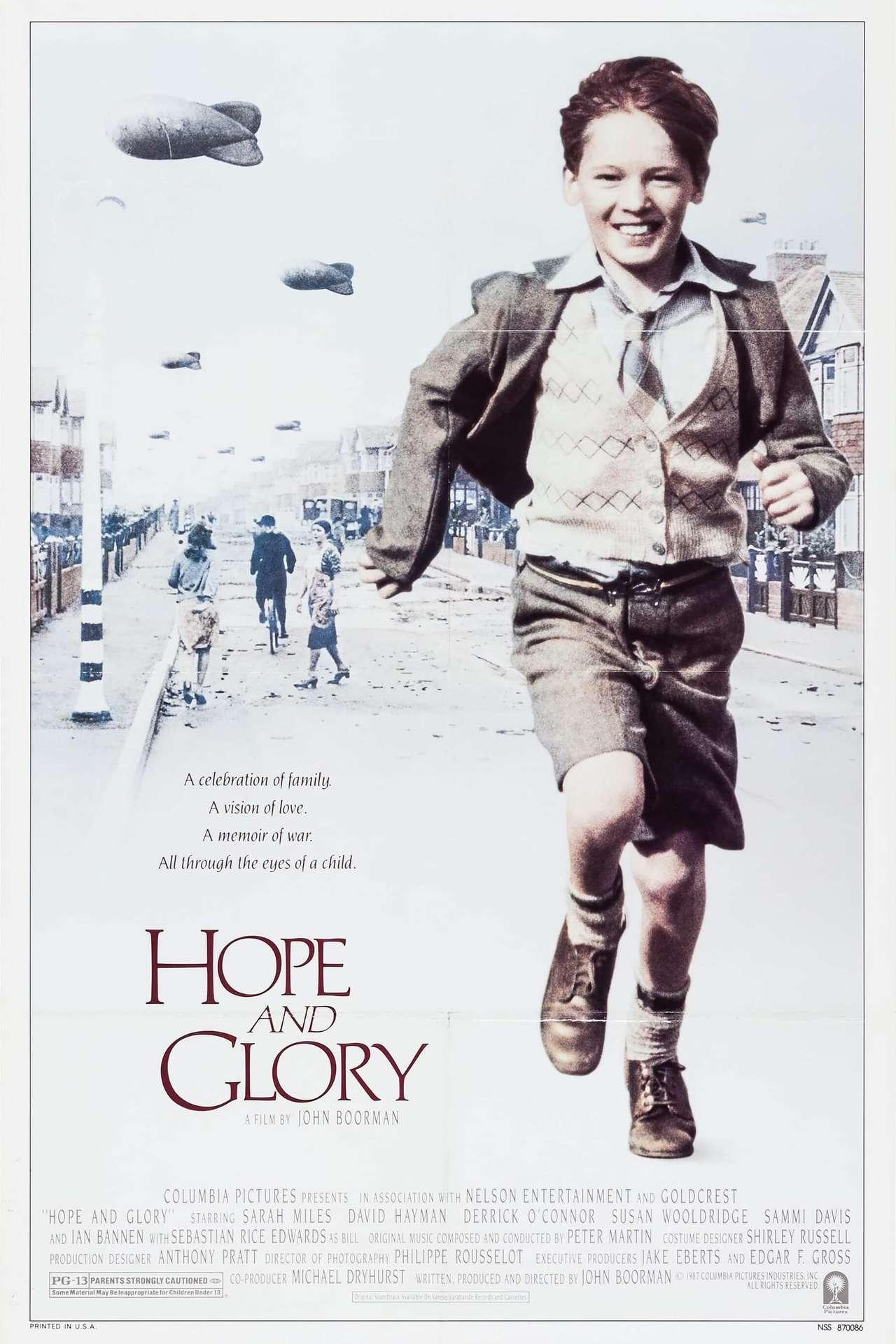 Постер фильма Надежда и слава 1987