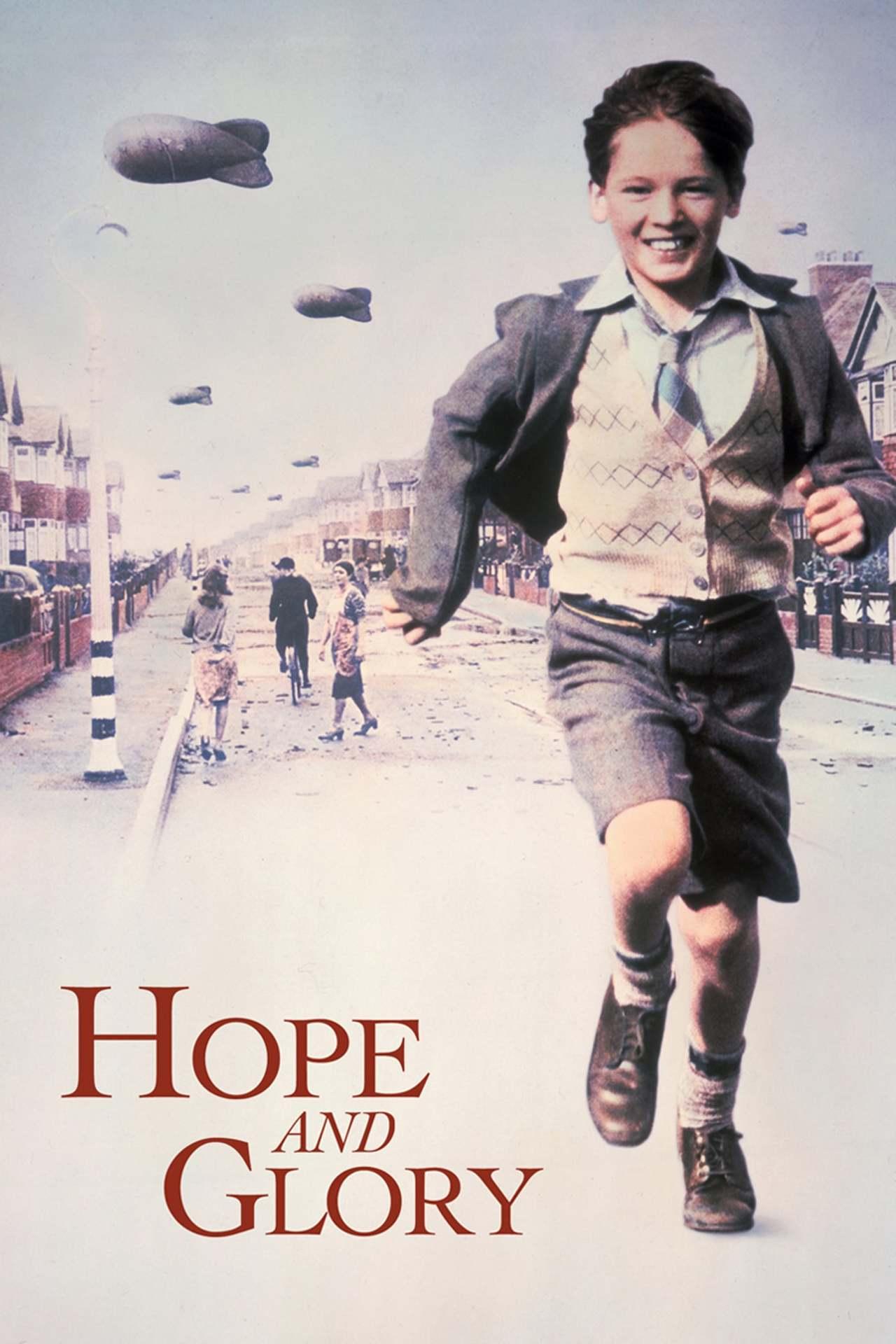 Постер фильма Надежда и слава Hope and Glory 1987