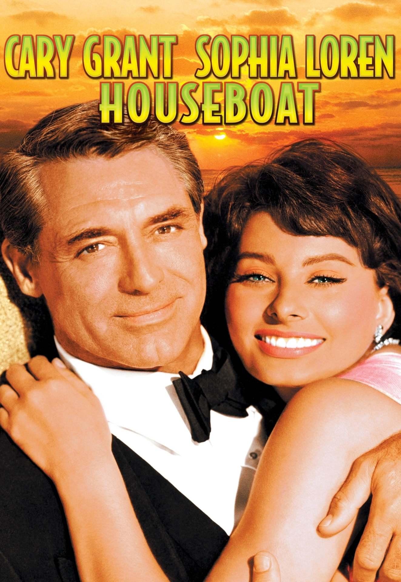 Постер фильма Плавучий дом 1958