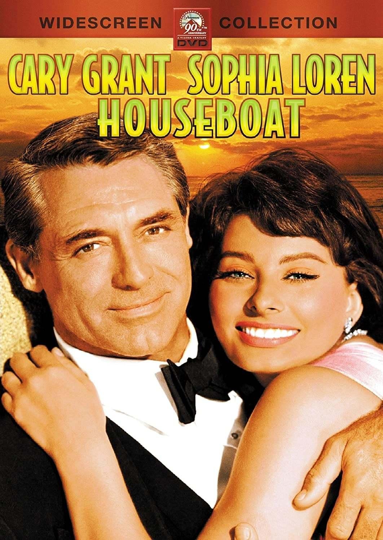 Постер фильма Плавучий дом Houseboat 1958