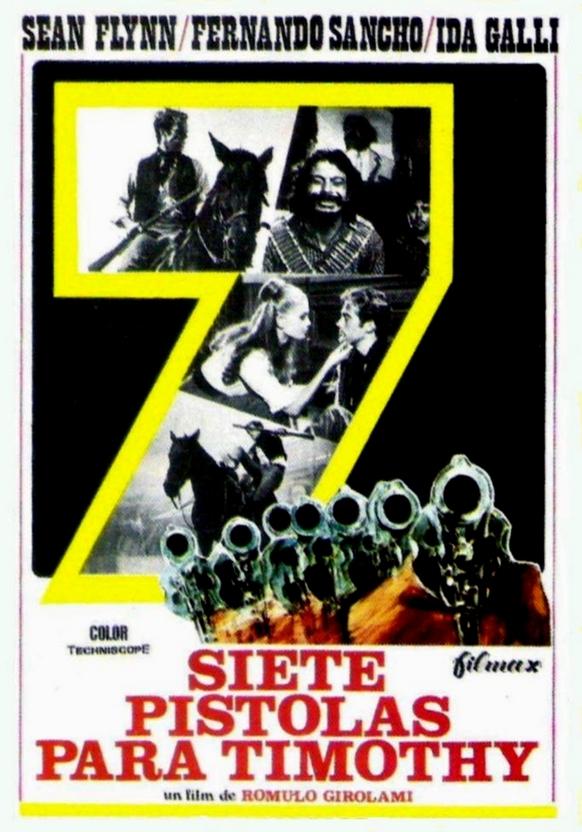 Постер фильма Семь великолепных с револьверами 1966