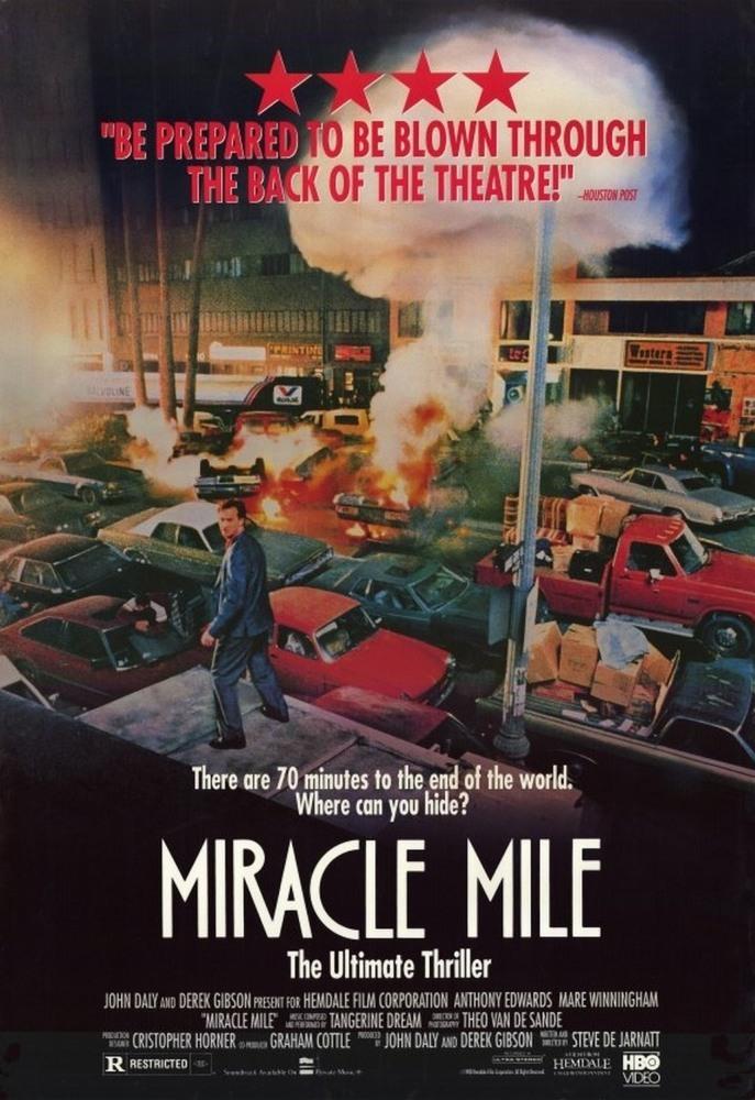 Постер фильма Волшебная миля 1988