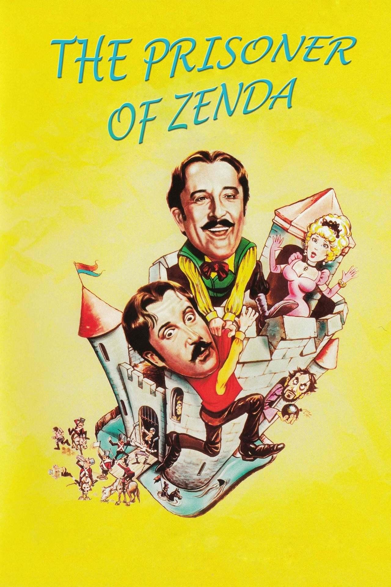 Постер фильма Узник Зенды 1979