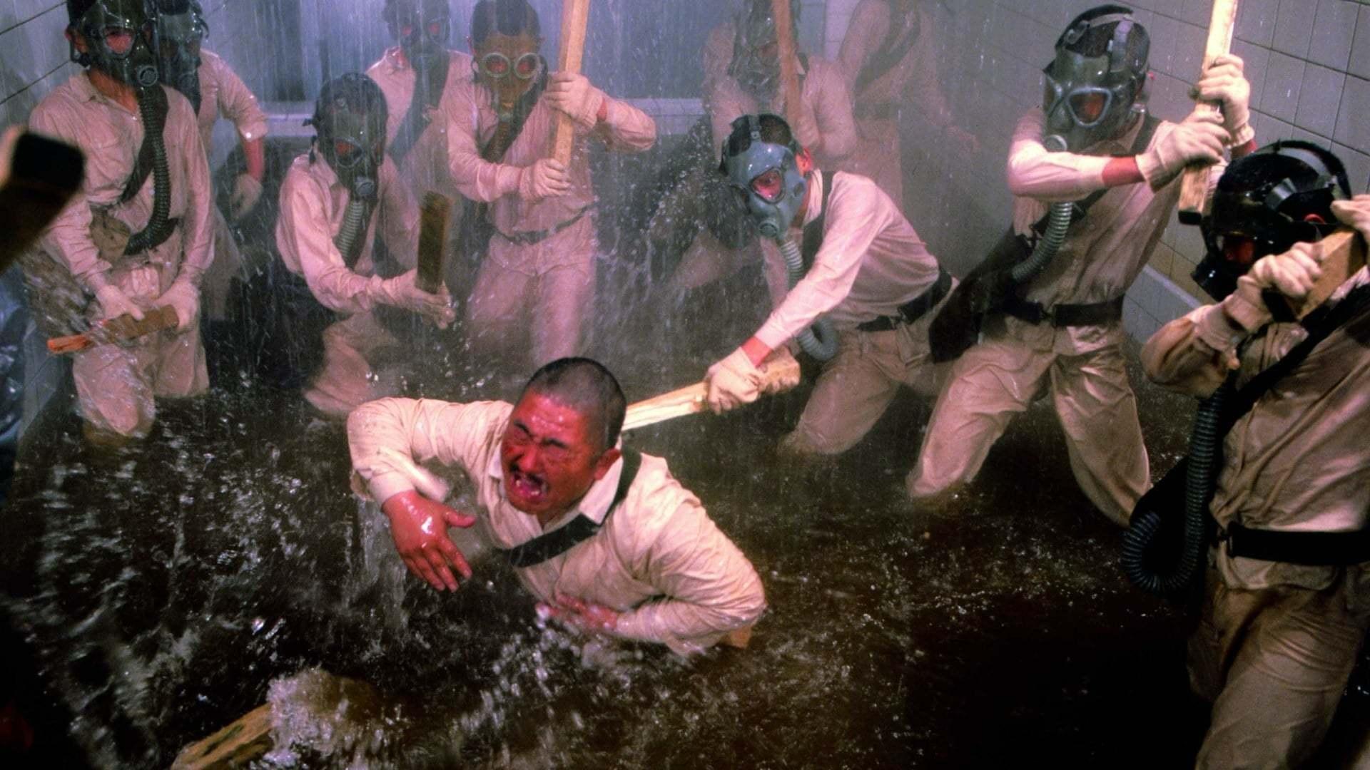 Кадры из фильма Человек за солнцем Hei tai yang 731 1988
