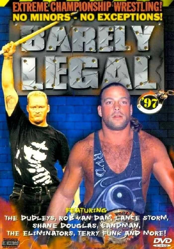 Постер фильма ECW Едва легально 1997