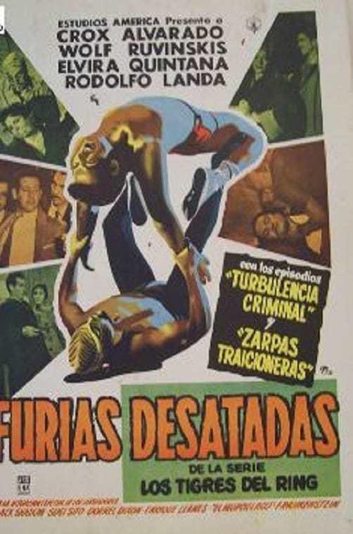 Постер фильма Furias desatadas 1957