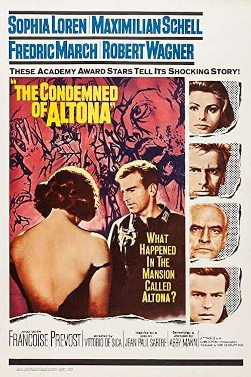 Постер фильма Затворники Альтоны 1962