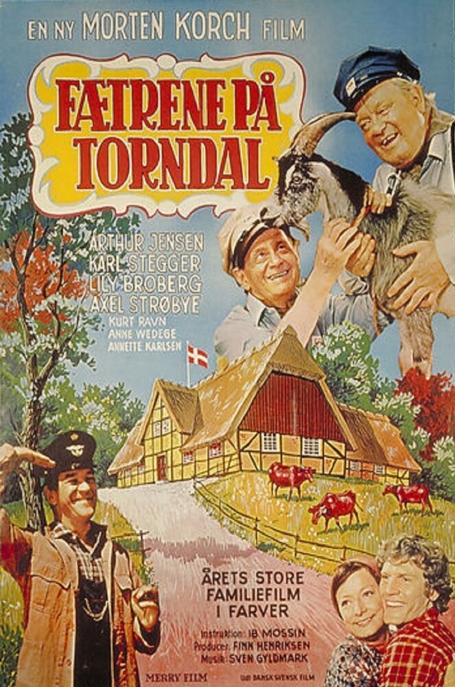 Постер фильма Fætrene på Torndal 1973