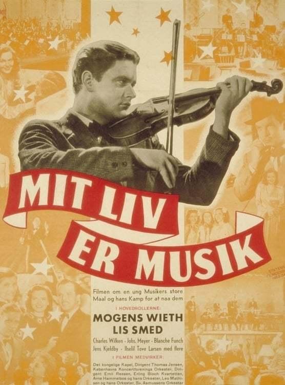 Постер фильма Mit liv er musik 1944