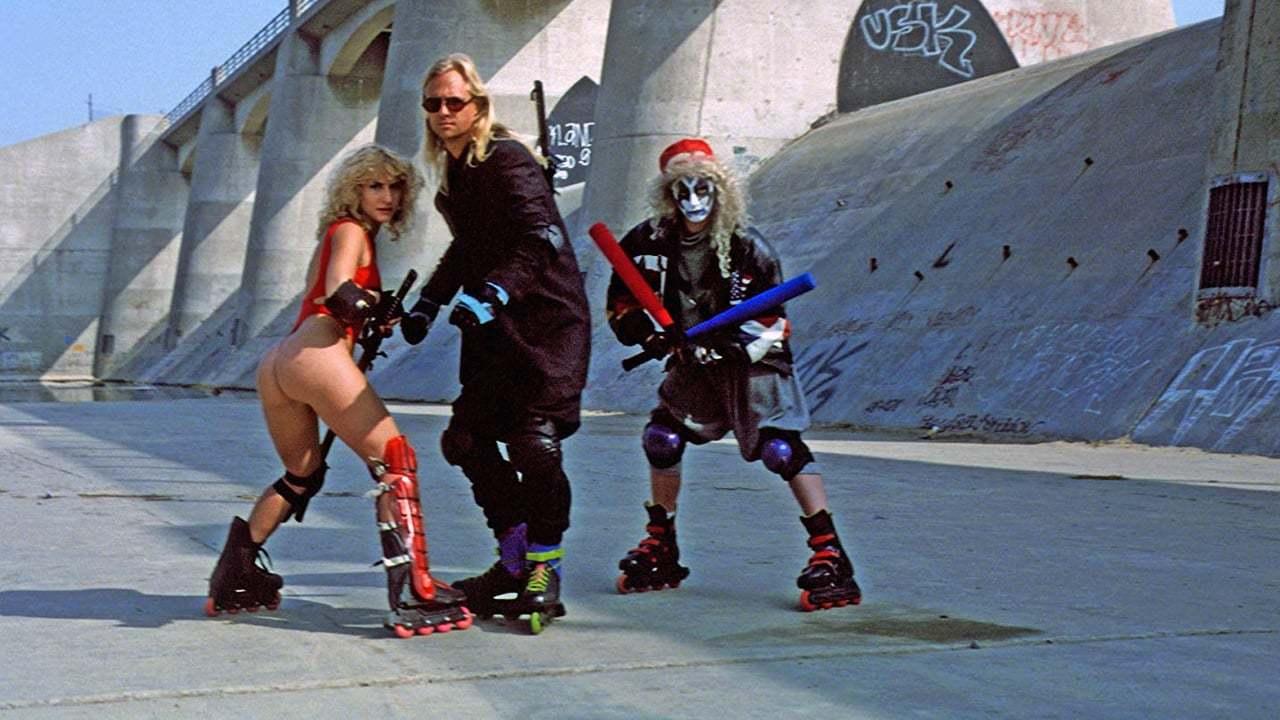 Кадры из фильма Семеро на дороге для роликов The Roller Blade Seven 1991