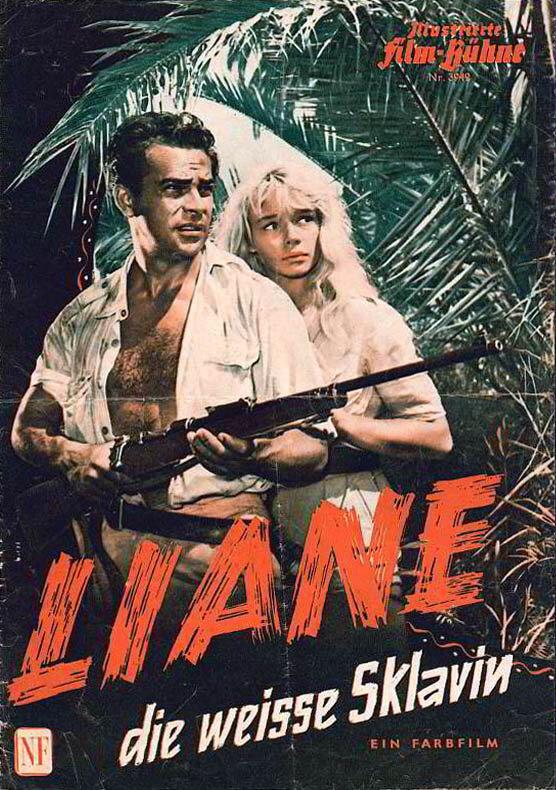 Постер фильма Лиана — белая рабыня 1957