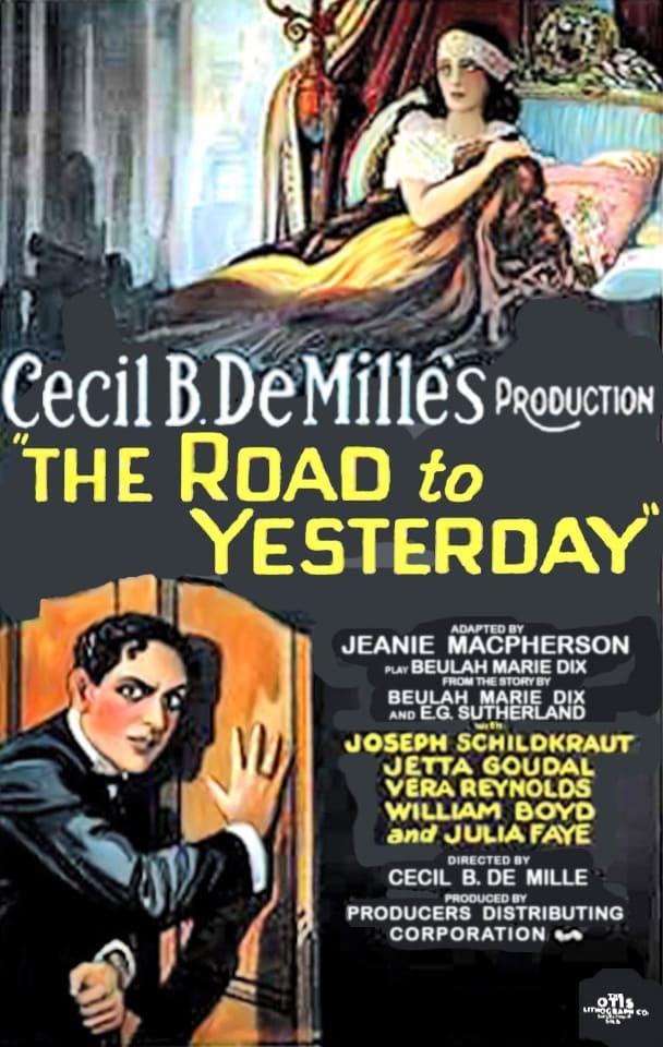 Постер фильма Дорога во вчерашний день 1925