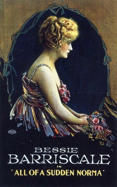 Постер фильма All of a Sudden Norma 1919