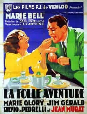 Постер фильма La folle aventure 1931