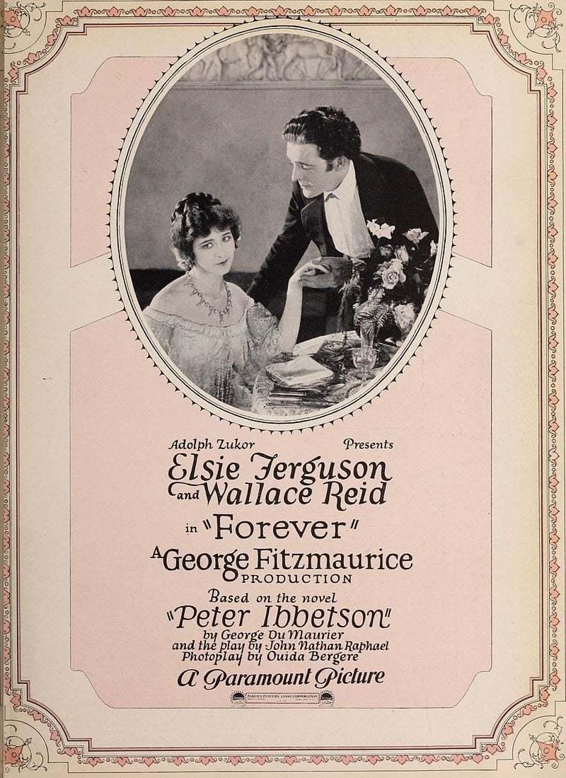 Постер фильма Навсегда 1921