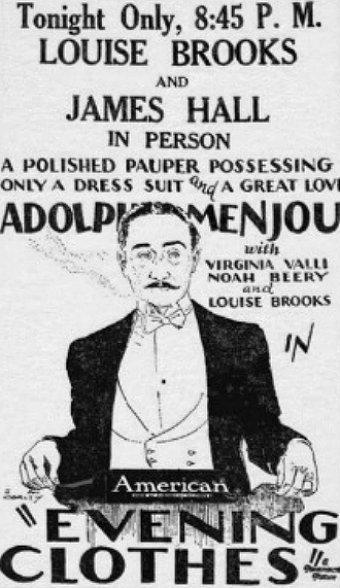 Постер фильма Вечерняя одежда 1927