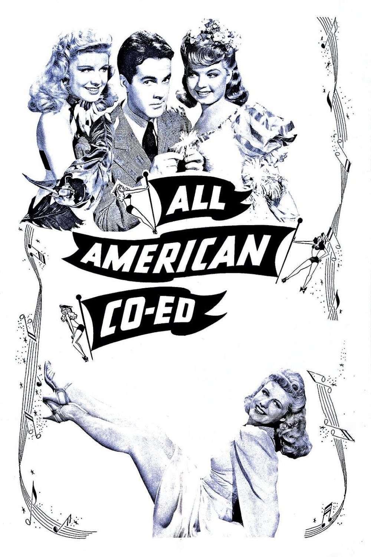 Постер фильма All-American Co-Ed 1941