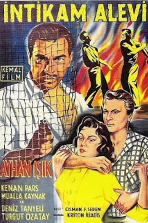 Постер фильма Intikam alevi 1956