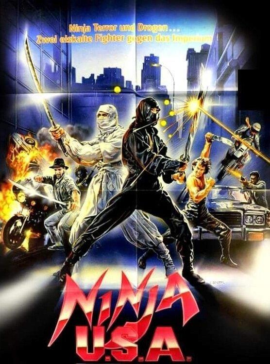 Постер фильма USA Ninja 1985