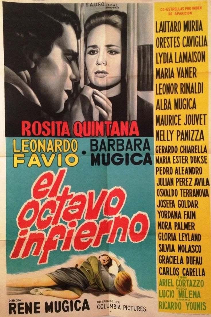 Постер фильма Восьмой ад 1964