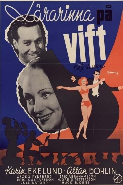 Постер фильма Lärarinna på vift 1941