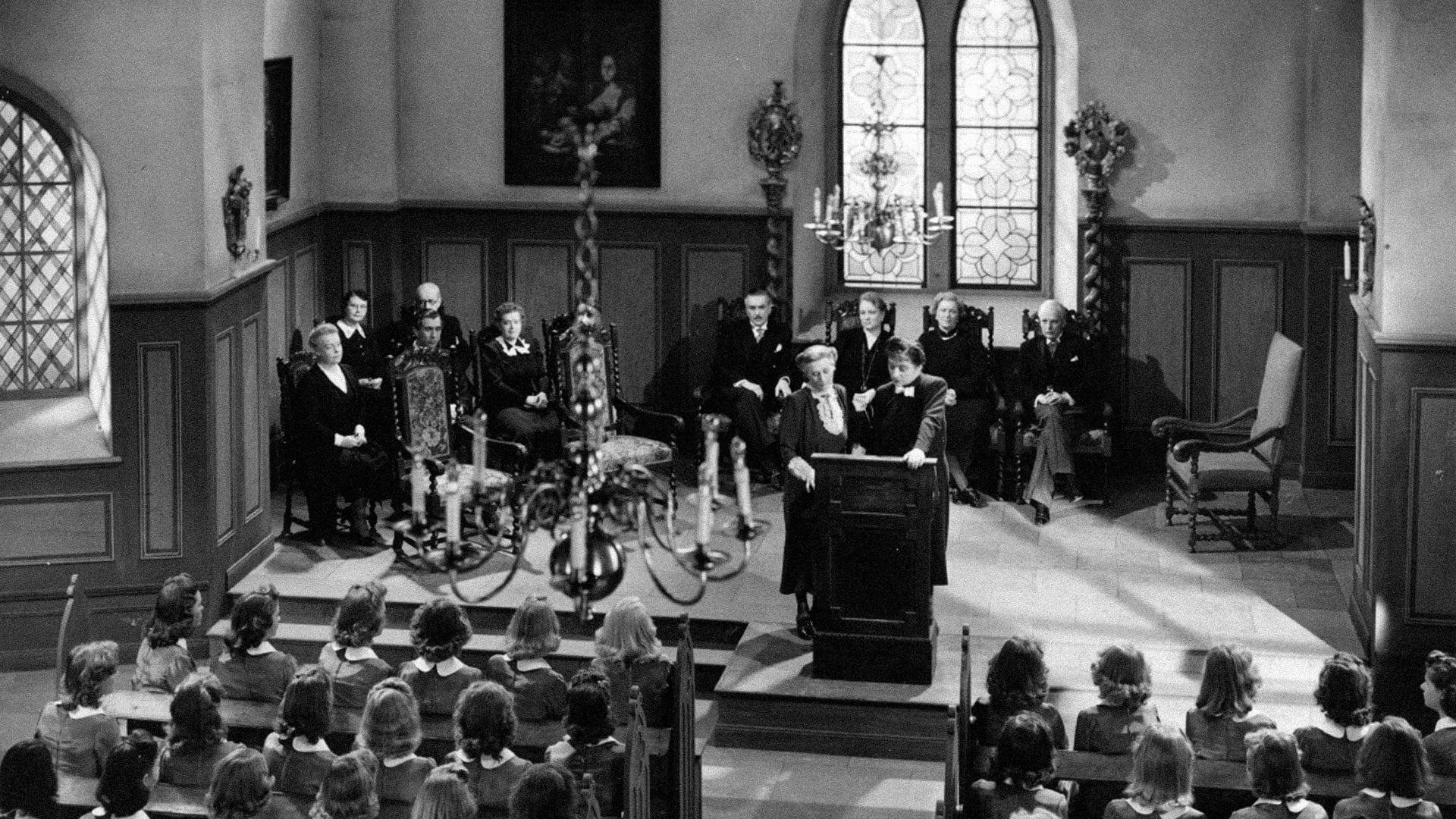 Кадры из фильма  Lärarinna på vift 1941
