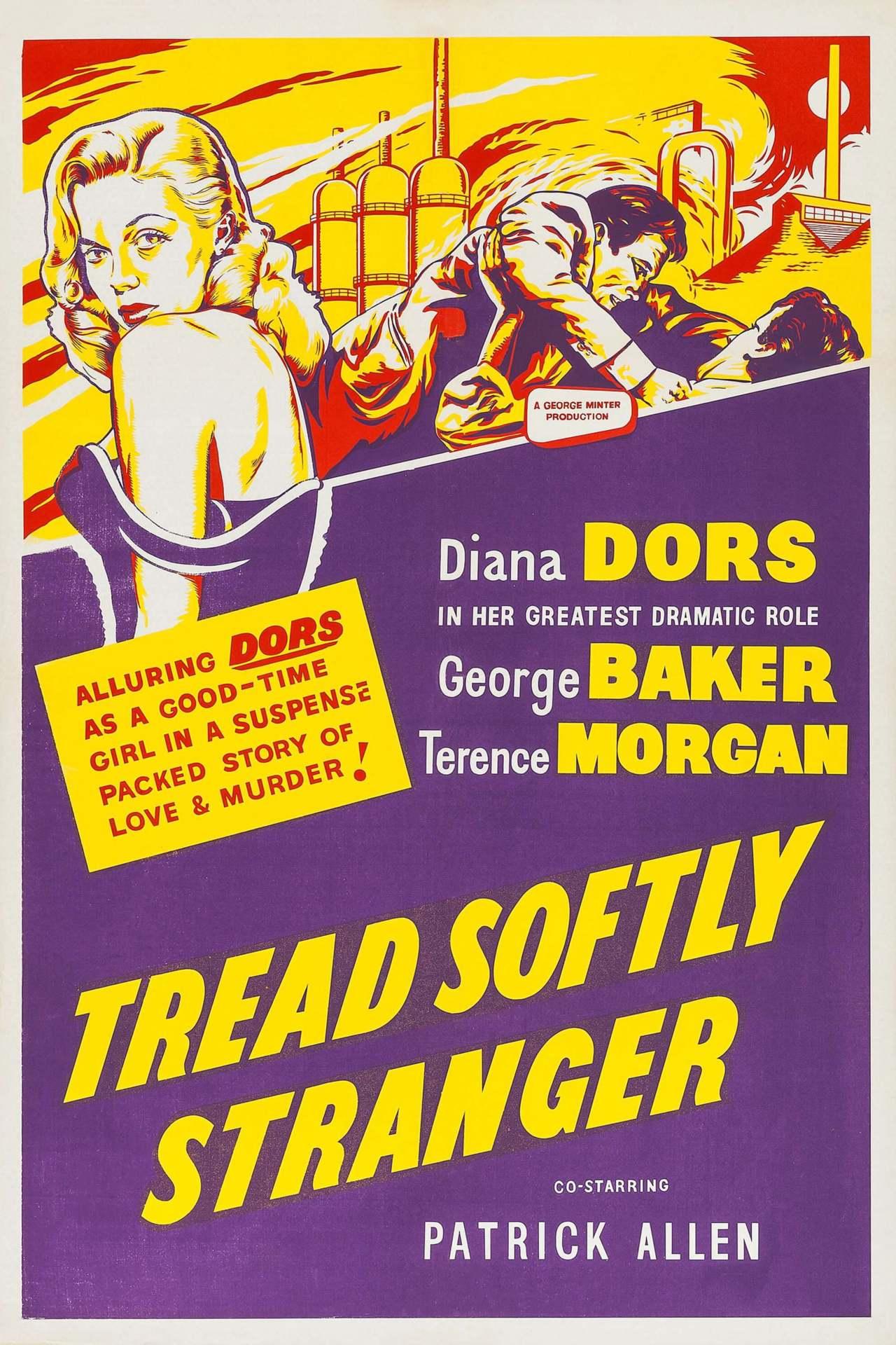 Постер фильма  Tread Softly Stranger 1958