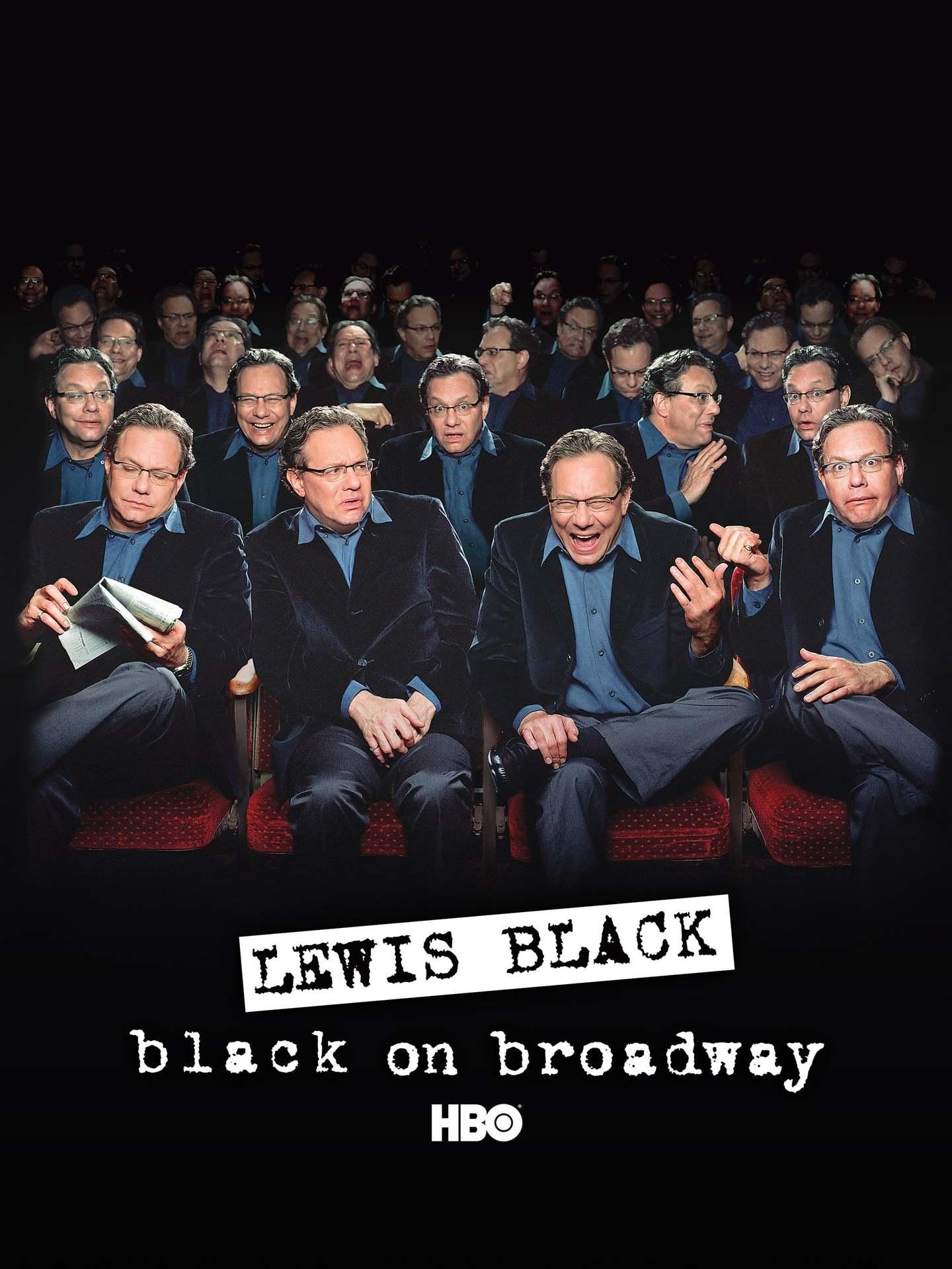 Постер фильма Льюис Блэк: Блэк на Бродвее 2004