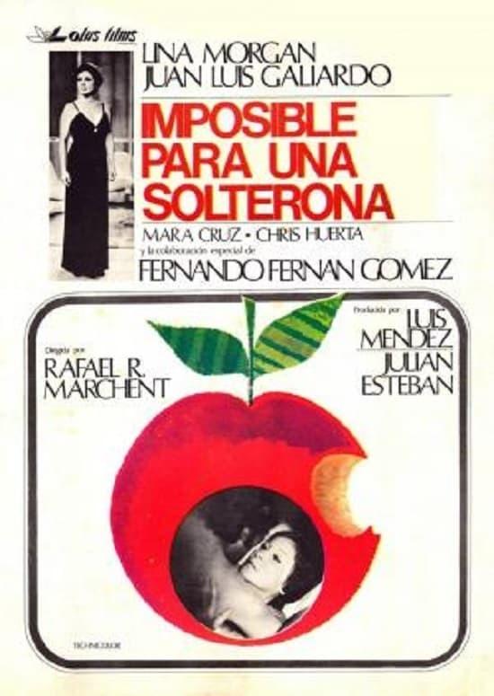 Постер фильма Невозможное для старой девы 1976