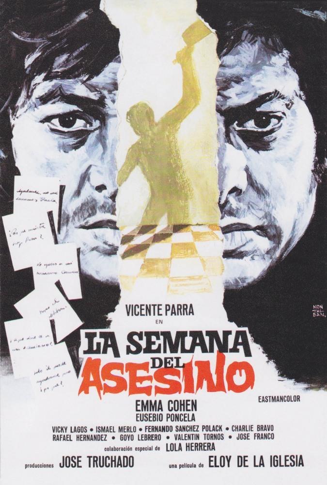 Постер фильма Неделя убийцы 1973