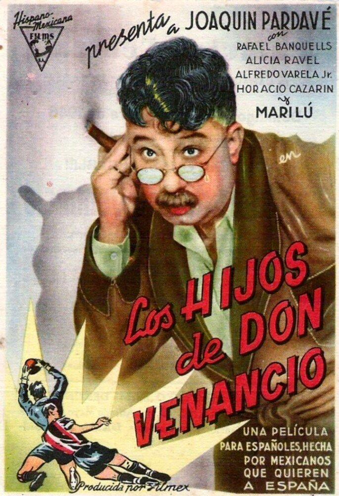 Постер фильма Дети дона Венансио 1944