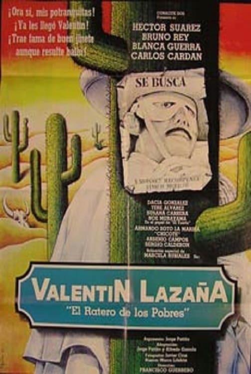Постер фильма Valentín Lazaña 1982