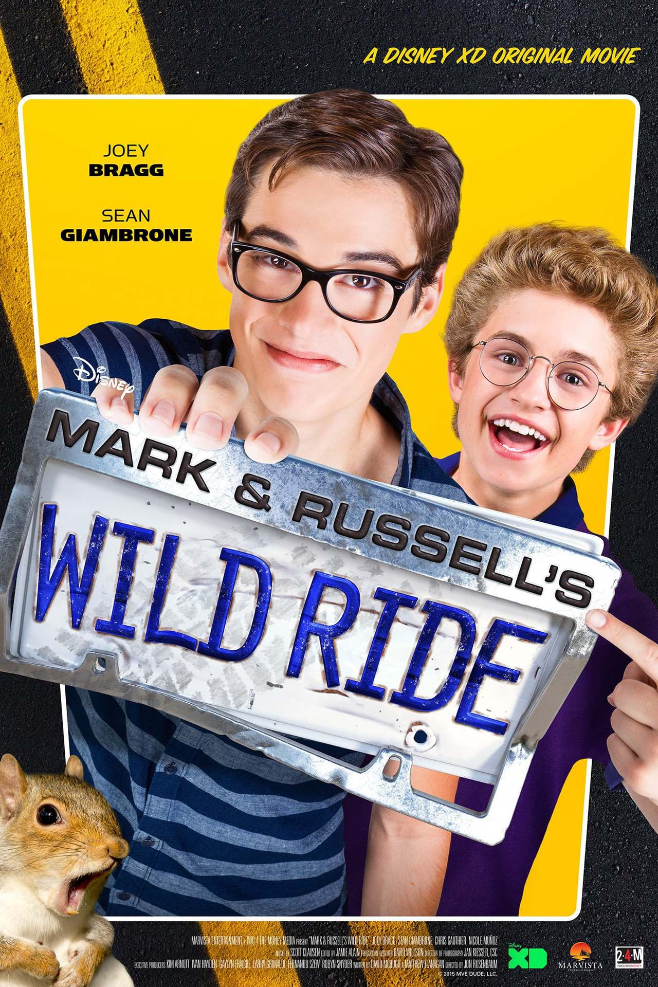 Постер фильма  Mark & Russell's Wild Ride 2015