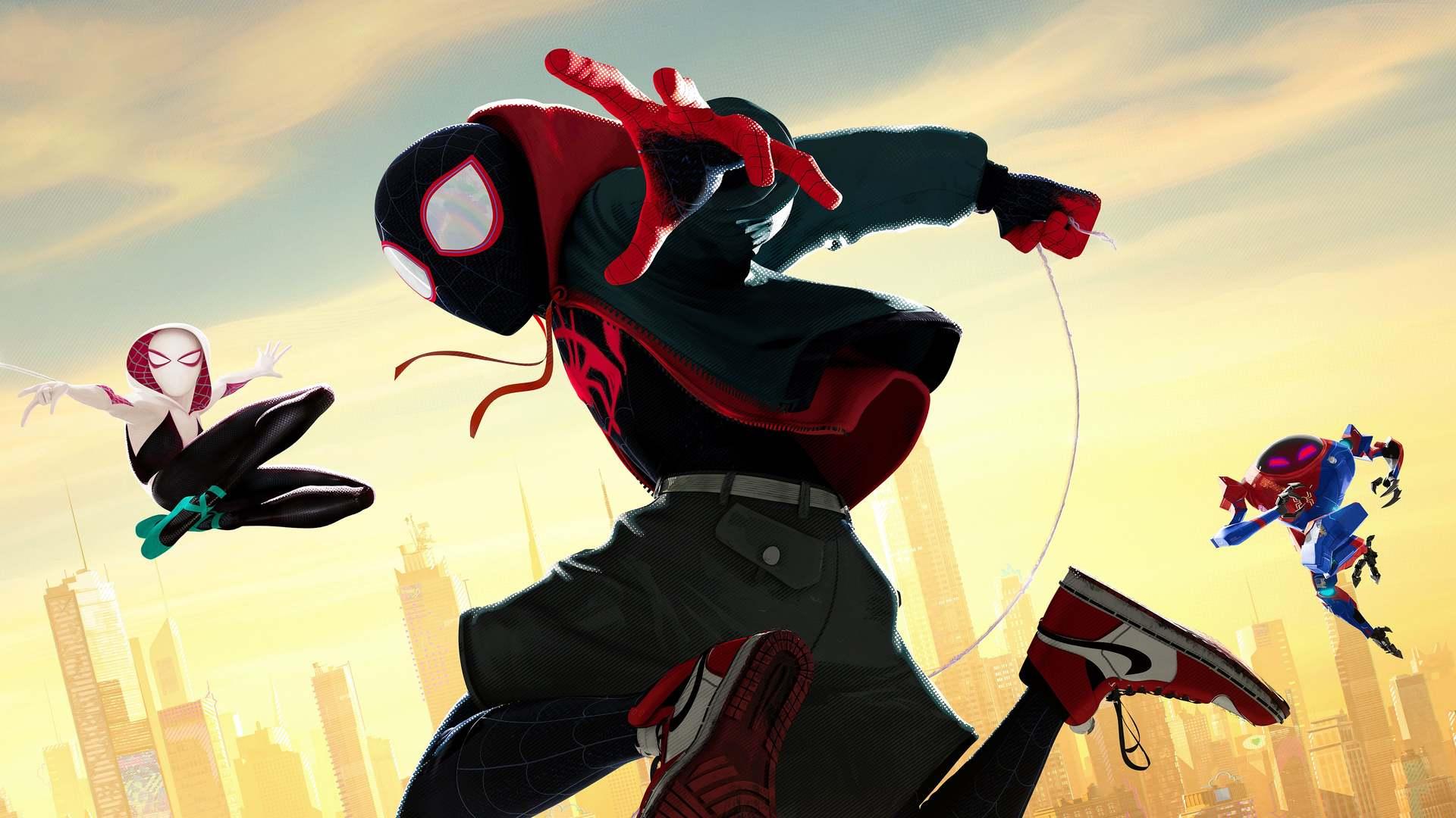 Кадры из фильма Человек-паук: Через вселенные Spider-Man: Into the Spider-Verse 2018