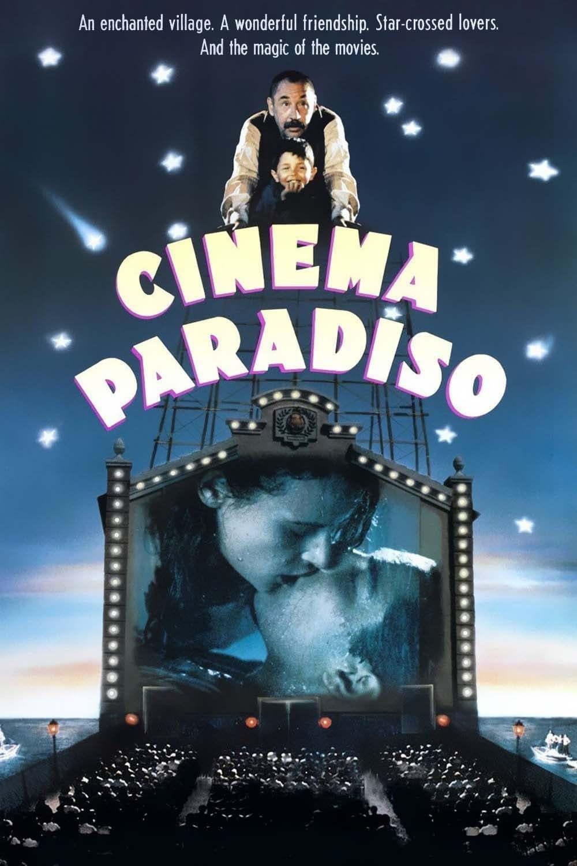 Постер фильма Новый кинотеатр «Парадизо» 1988