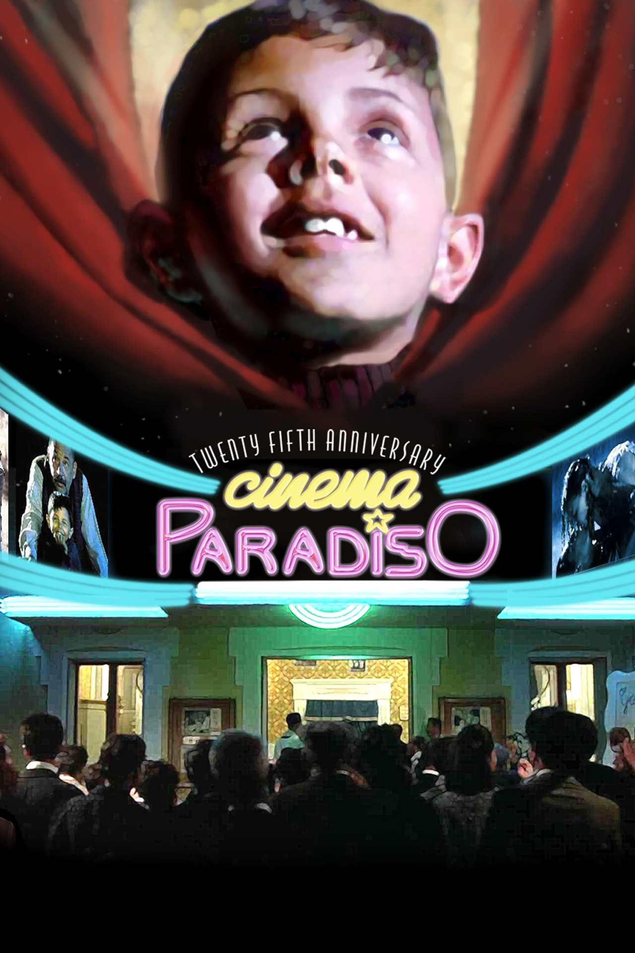 Постер фильма Новый кинотеатр «Парадизо» Nuovo Cinema Paradiso 1988