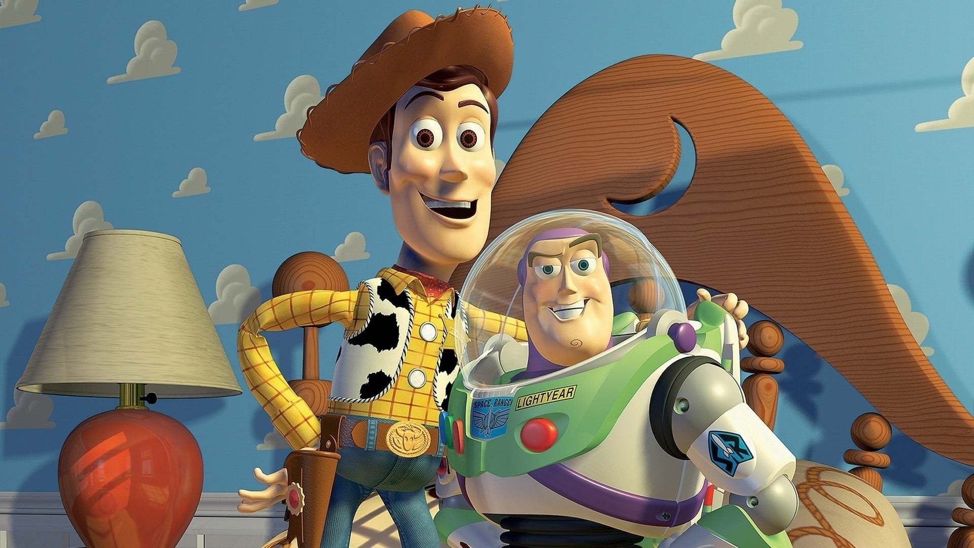 Кадры из фильма История игрушек Toy Story 1995