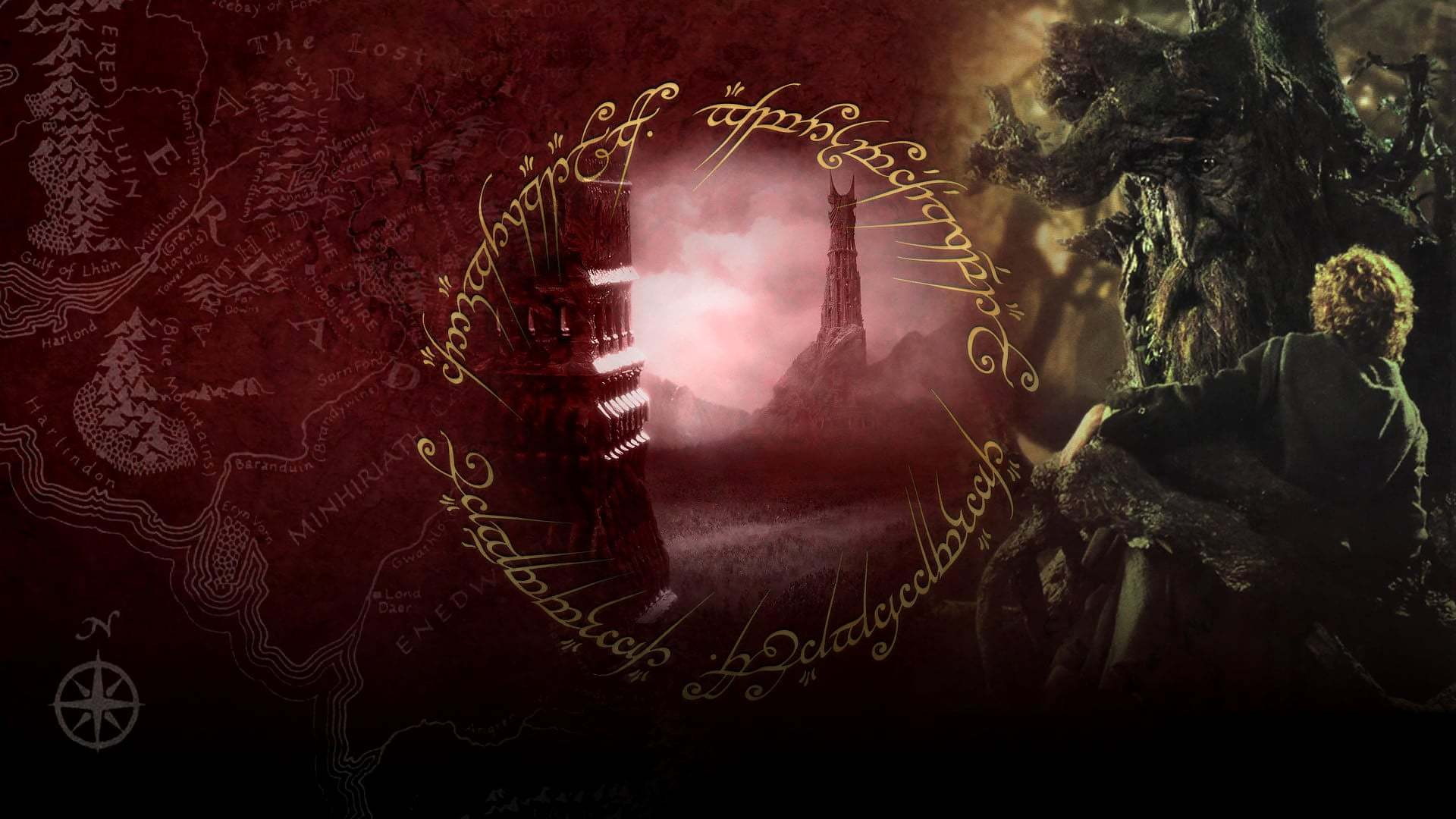 Кадры из фильма Властелин колец: Две крепости The Lord of the Rings: The Two Towers 2002