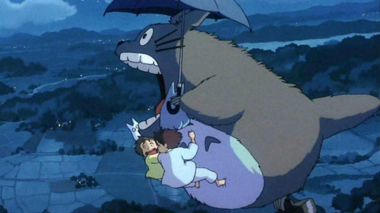 Кадры из фильма Мой сосед Тоторо Tonari no Totoro 1988