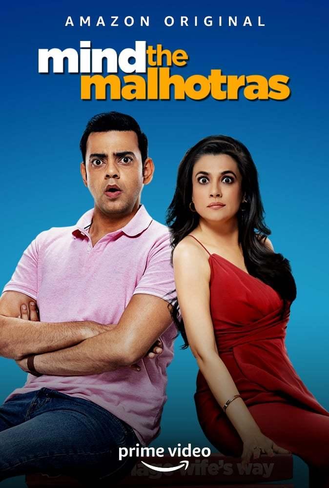 Постер фильма Mind The Malhotras 2019