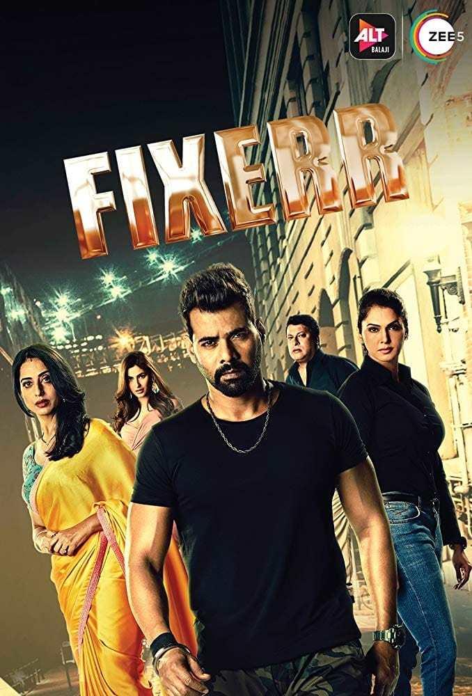 Постер фильма Fixerr 2019