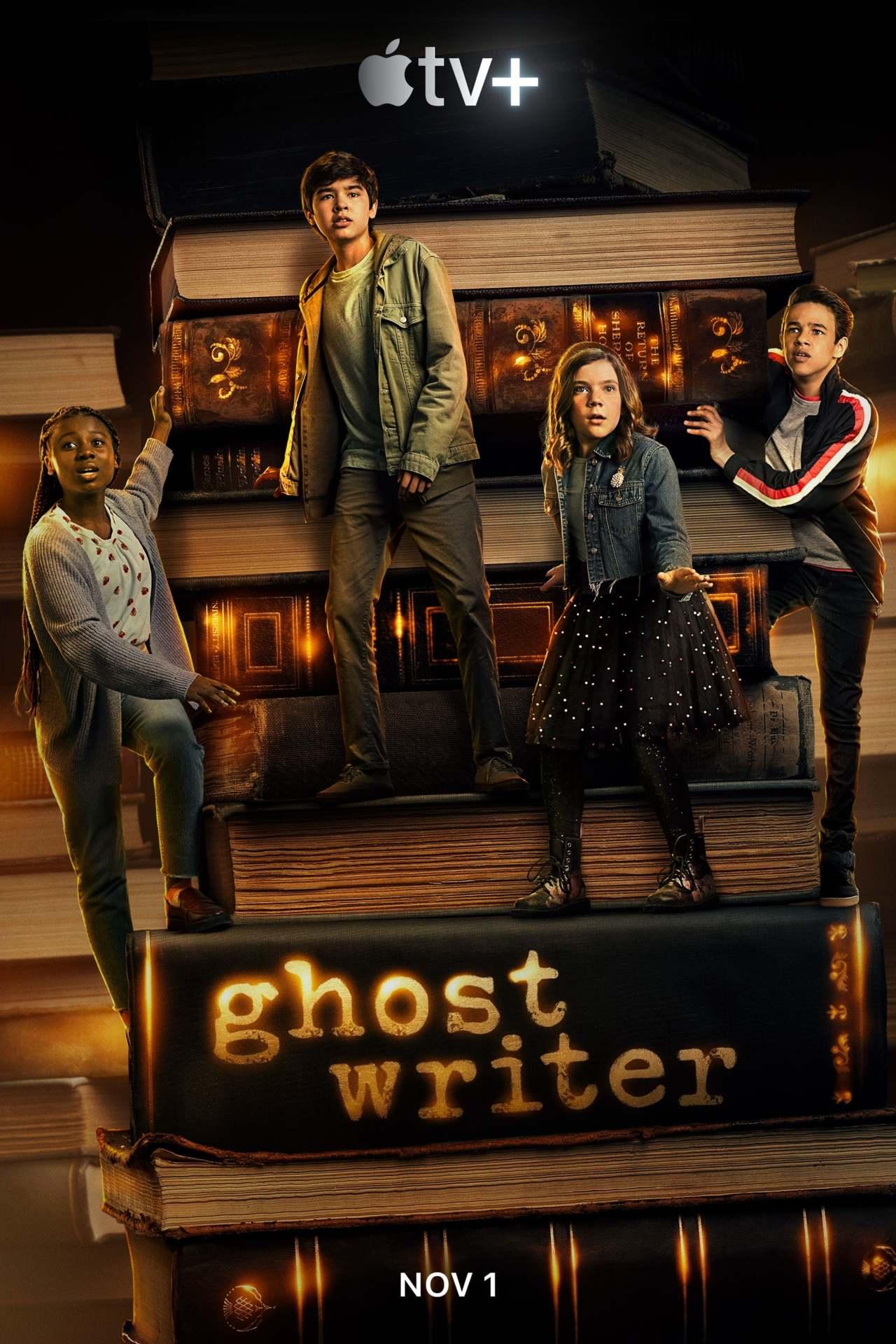 Постер фильма Послания призрака Ghostwriter 2019