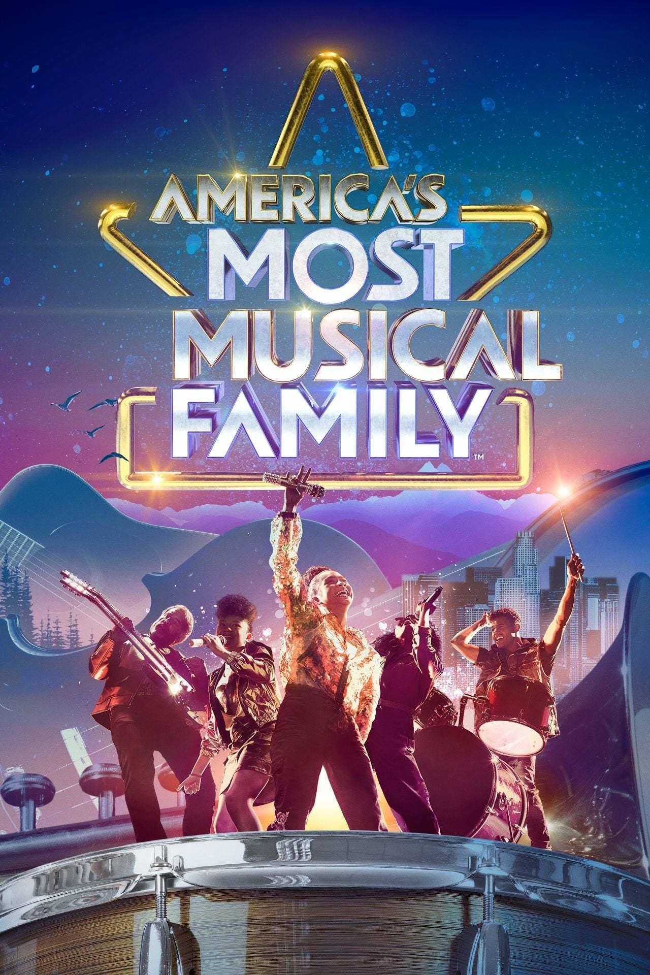 Постер фильма America's Most Musical Family 2019