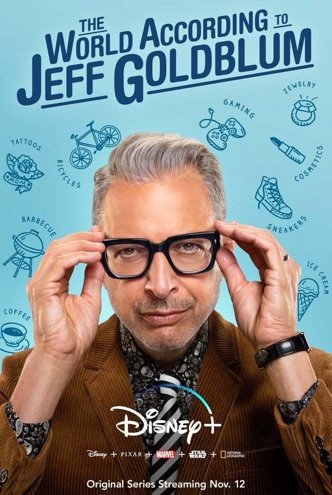 Постер фильма Мир по Голдблюму The World According to Jeff Goldblum 2019